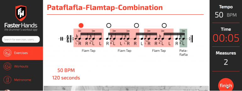 Snippet - Flam Tap - Pataflafla - Combination