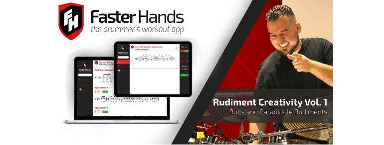 Juan Carlito Mendoza's Rudiment Creativity on Faster Hands